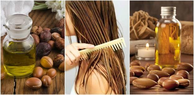 маски для волос с аргановым маслом