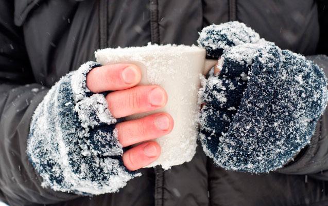 обморожение и первая помощь