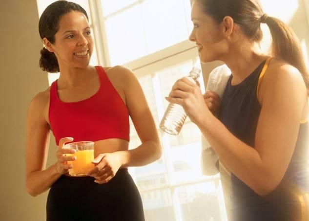 питание до и после тренировок